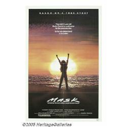 Cher Signed Poster. For Peter Bogdanovich's 1985