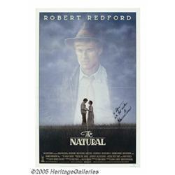 Glenn Close Signed Poster. For the 1984 baseball