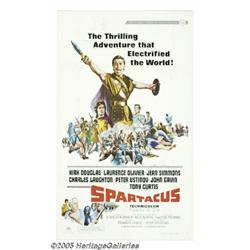"""Kirk Douglas and Jean Simmons Signed """"Spartacus"""""""
