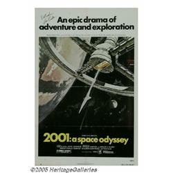Keir Dullea Signed 2001 Poster. When Stanley Kubr
