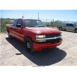 2001 - CHEVROLET SILVERADO 1500
