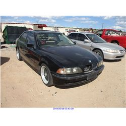 1998 - BMW 5-SERIES//SALVAGE TITLE