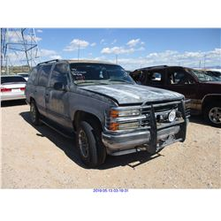 1997 - CHEVROLET TAHOE//SALVAGE TITLE