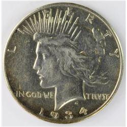1934-S PEACE DOLLAR