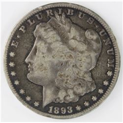 1893 CC MORGAN DOLLAR
