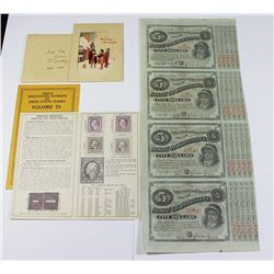 NEAT OLD STAMP SET OF 4 TYPES 1908-1917