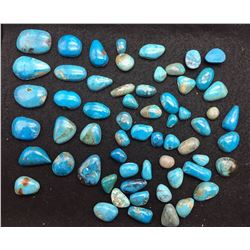 Approx. 500ct. misc. Turquoise Cabochons
