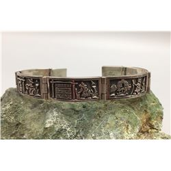 Unique Storyteller Link Bracelet
