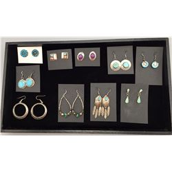 Group of 10 Pairs of Earrings