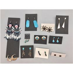 Group of 11 Pairs of Earrings