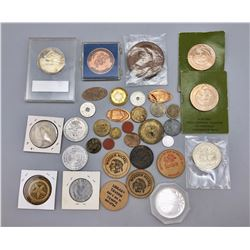 Group of Misc. Trade Tokens and Coins
