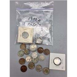 Vintage and Antique Nickel Collection