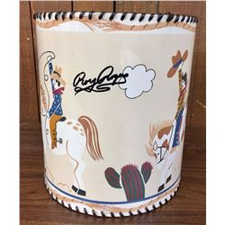 Rare Roy Rogers, Signed Lampshade