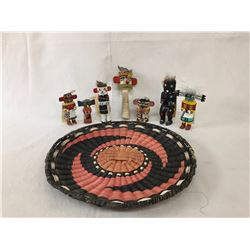 Hopi Dolls and Basket