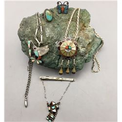 Group of Vintage Sterling Jewelry