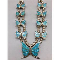Unique Butterfly - Squash Style Necklace
