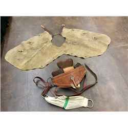 Vintage Chaps and Blackwood Bareback Riggin