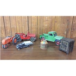 Group of Old Toys