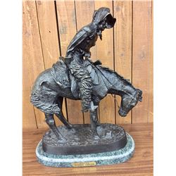 "After Remington Bronze - ""Norther"""