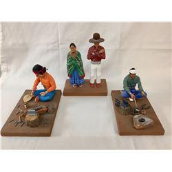 Group Nelson Watchman Navajo Folk Art