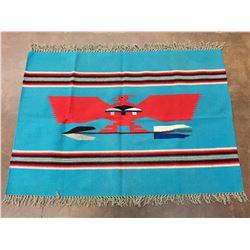 Vintage Chimayo Thunderbird Textile