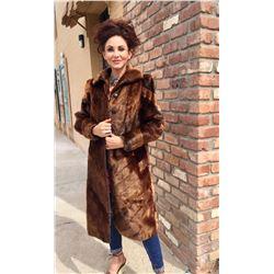Vintage Sheared Beaver Coat