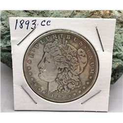 1893 Carson City Morgan Dollar