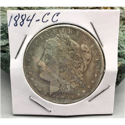 1884 Carson City Morgan Dollar