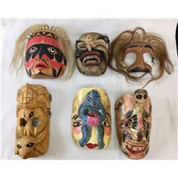Group of Various Masks