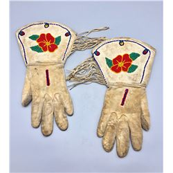 Vintage Beaded Gauntlets