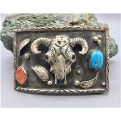 Unique Steer Head Belt Buckle