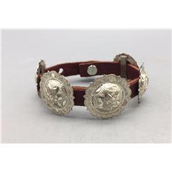 Concho Belt Style Wrist Bracelet