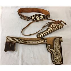 Mexican Gun Leather Items