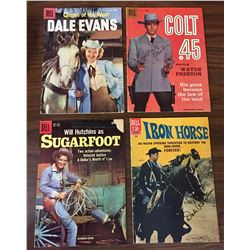 Group of Four Old Cowboy Comics