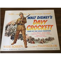 Davy Crockett - Title Lobby Card