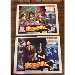 Two John Wayne Movie Lobby Cards