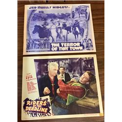 1930s & 1940s Western Movie Lobby Cards
