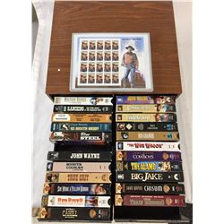 John Wayne Stamps and Western Movies