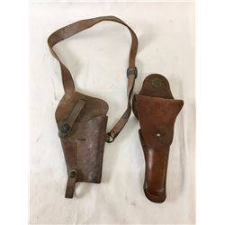 Two U.S. Marked Holsters