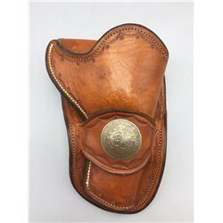 Jan Merlin Autographed Leather Holster