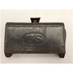 Model 1874, McKeever Pistol Cartridge Box