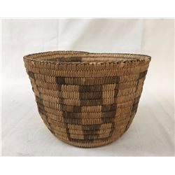 Antique Pima Basket, Turtle Back Pattern