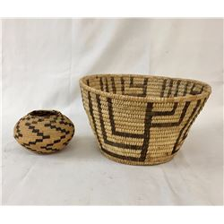 Antique Papago and Craft Baskets