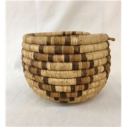 Antique Hopi Coiled Basket