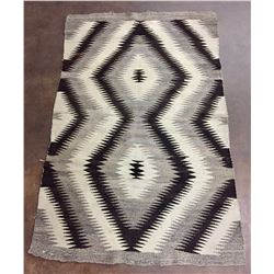 Old, Natural Navajo Weaving