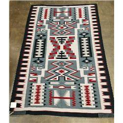 Large Navajo Storm Pattern Textile