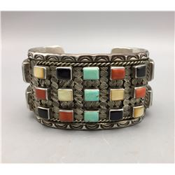 Multi-stone Zuni Bracelet