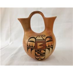 Vintage Hopi Wedding Vase by Flower Woman