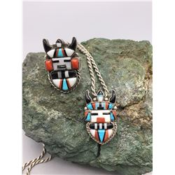 Antelope Kachina Necklace and Ring