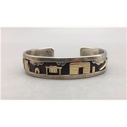 Sterling Silver and Gold Storyteller Bracelet